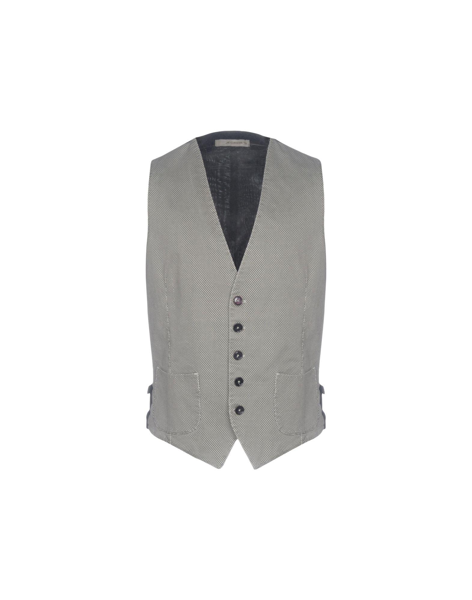 JEORDIES Vests in Light Grey