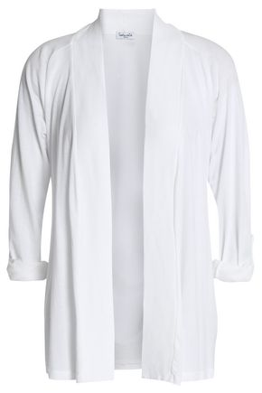SPLENDID Micro Modal and Supima cotton-blend jersey cardigan