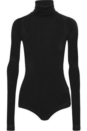 ALIX Ribbed stretch-modal jersey turtleneck bodysuit