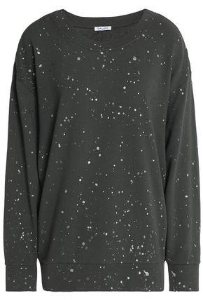 SPLENDID Printed cotton-jersey sweatshirt