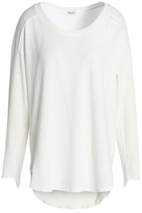 SPLENDID Slub cotton-jersey top