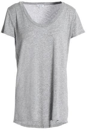 SPLENDID Mélange Supima cotton and modal-blend T-shirt