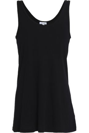 SPLENDID Stretch-Supima cotton and modal-blend jersey tank