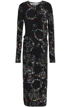 PREEN by THORNTON BREGAZZI Margerita floral-print stretch-jersey midi dress