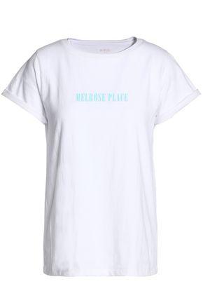A.P.C. Printed cotton-jersey T-shirt