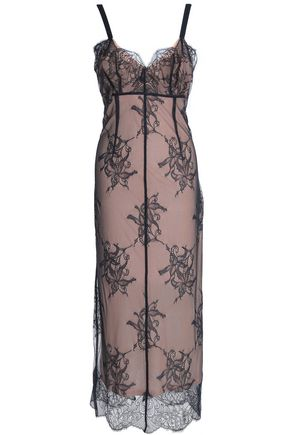 CINQ À SEPT Tate lace midi dress