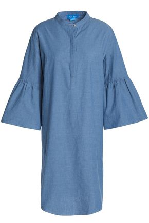 M.I.H JEANS Beck cotton-chambray dress