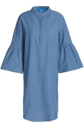 M.I.H JEANS Beck cotton-chambray dress