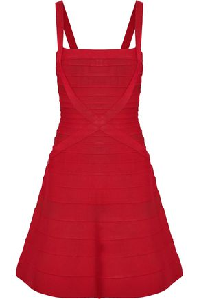 HERVÉ LÉGER Faith bandage mini dress