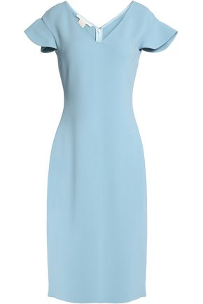 ANTONIO BERARDI Fluted crepe dress