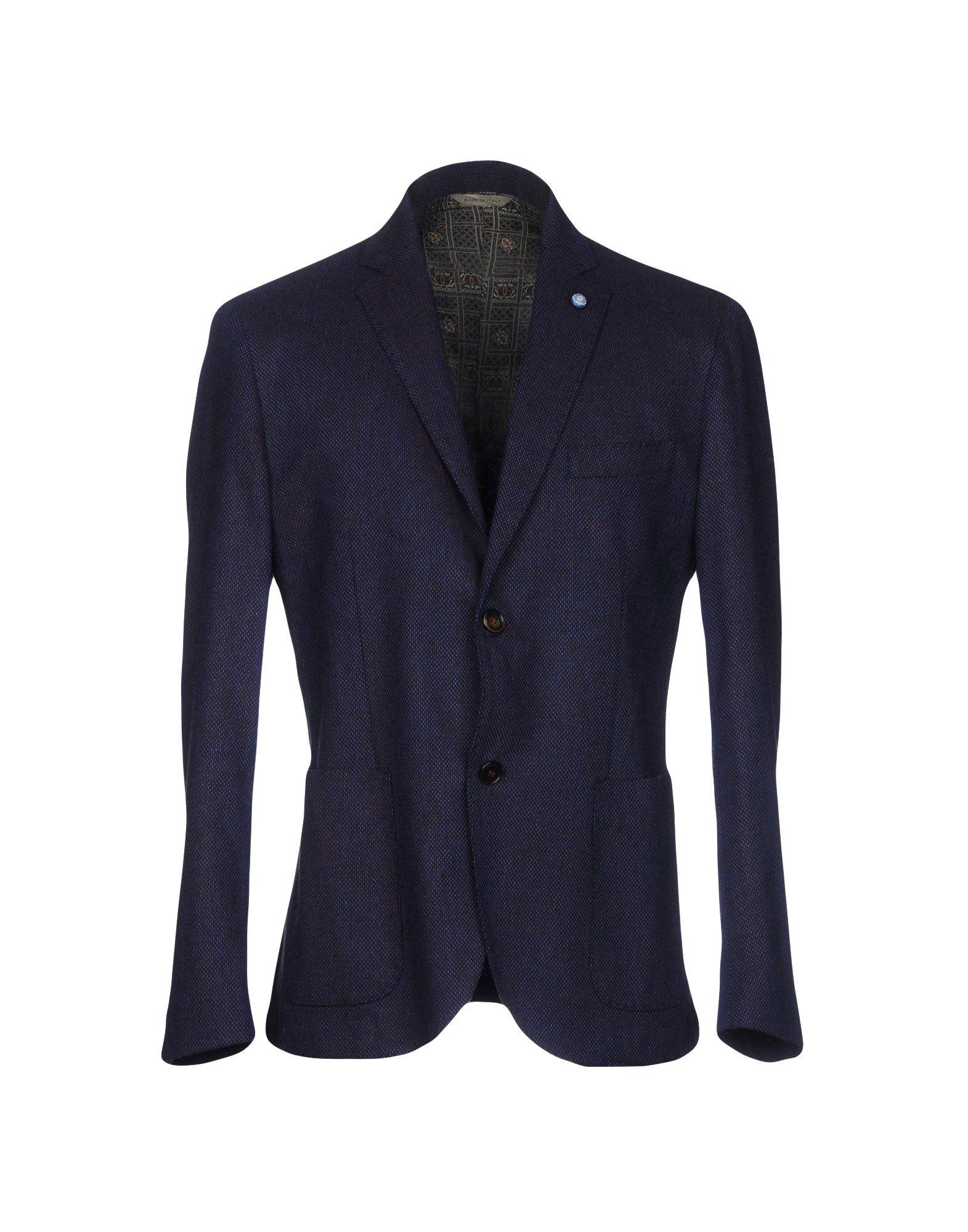 《送料無料》ALESSANDRO GILLES メンズ テーラードジャケット モーブ 50 ウール 53% / レーヨン 34% / ナイロン 13%