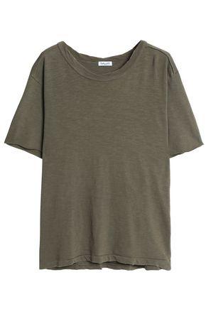 SPLENDID Slub cotton-jersey T-shirt