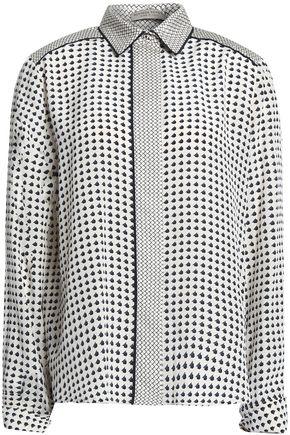 BOTTEGA VENETA Printed silk crepe de chine shirt
