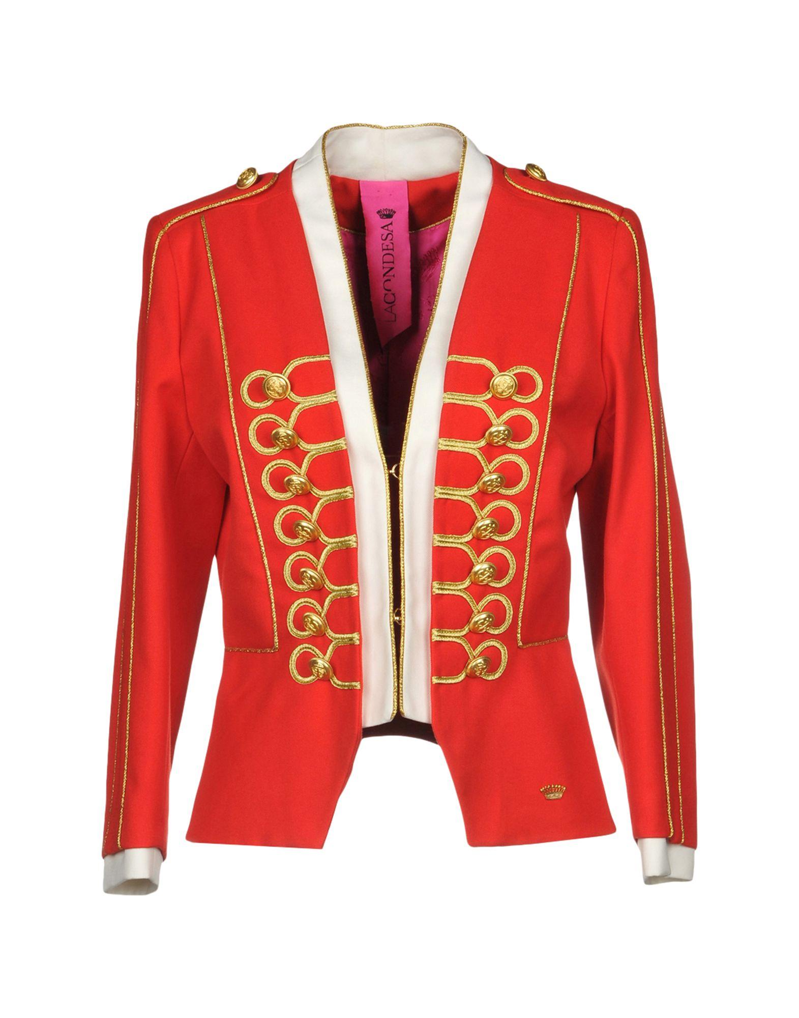 LA CONDESA Blazer in Red
