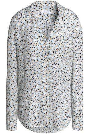 EQUIPMENT Keira printed washed-silk shirt