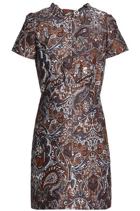 MAJE Jacquard mini dress