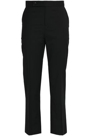 MAJE Twill straight-leg pants