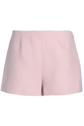 VALENTINO Wool and silk-blend shorts