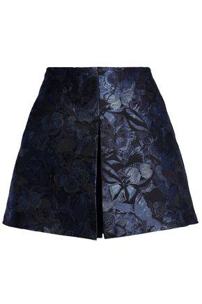 VALENTINO GARAVANI Silk floral-jacquard shorts