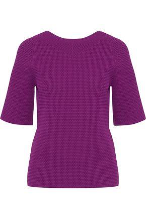 VICTORIA BECKHAM Open-knit top