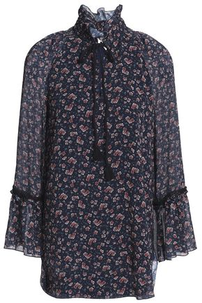 SEE BY CHLOÉ Floral-print georgette blouse