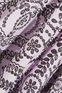 TOPSHOP UNIQUE One-shoulder pleated broderie anglaise cotton dress