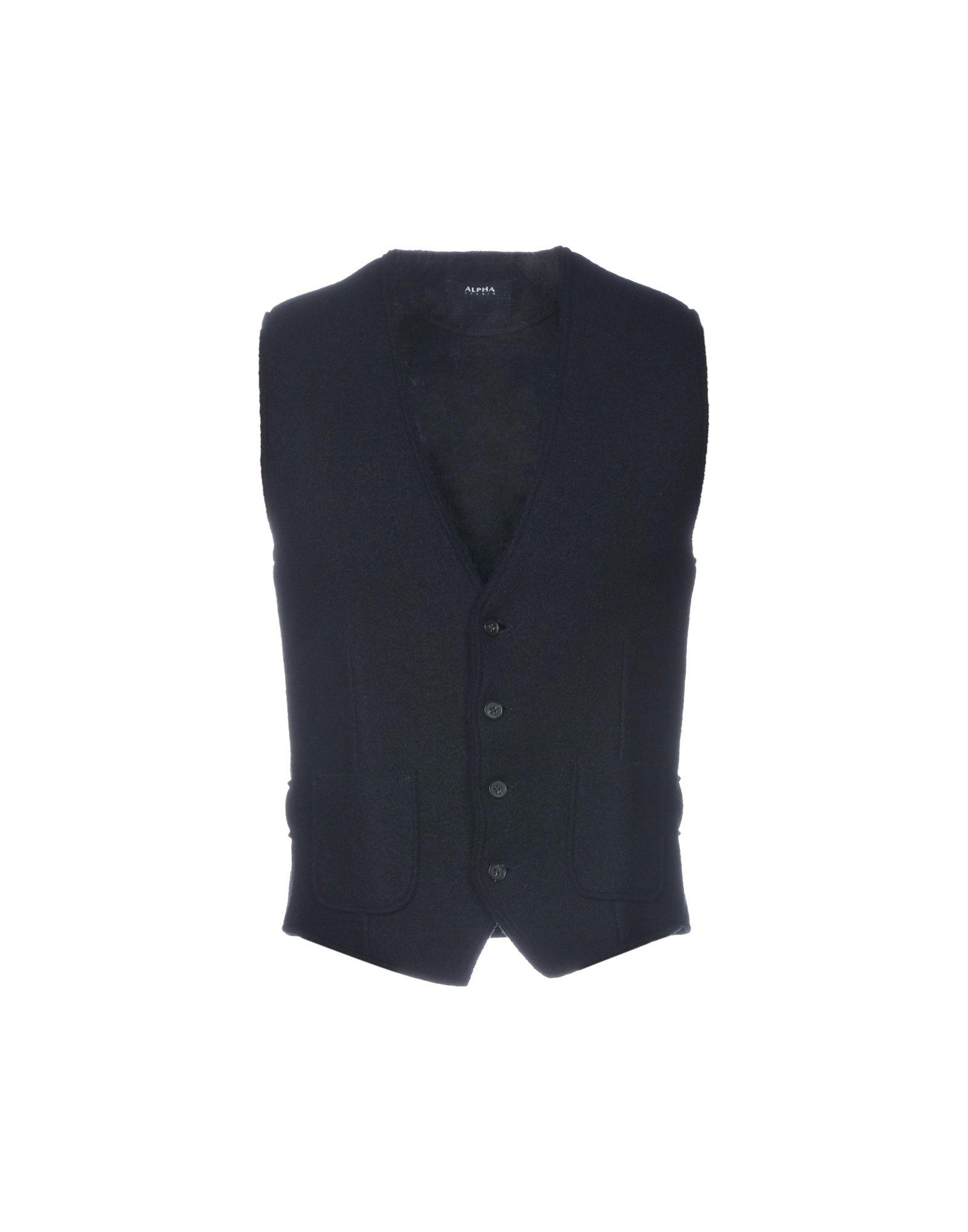 ALPHA STUDIO Жилет комплект жилет галстук платок quelle studio coletti 890172