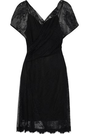 DIANE VON FURSTENBERG Leaver's lace dress