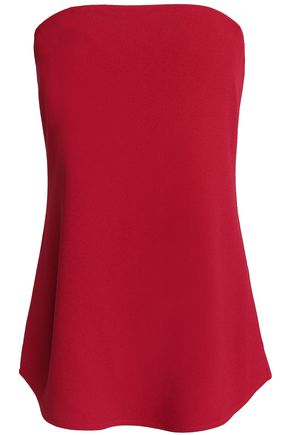 THEORY Strapless crepe top