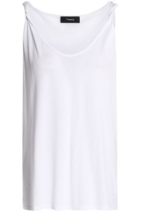 THEORY Pima cotton and modal-blend jersey tank