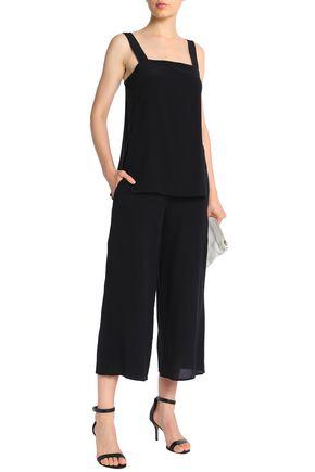 THEORY Silk crepe de chine jumpsuit
