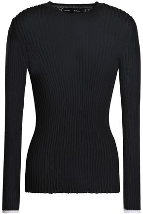 PROENZA SCHOULER Ribbed stretch-knit sweater