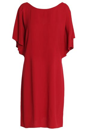THEORY Draped crepe dress