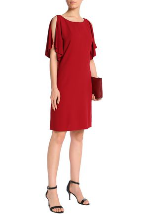 THEORY Draped crepe dress