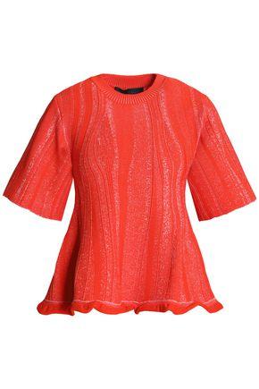 PROENZA SCHOULER Ruffled knitted top