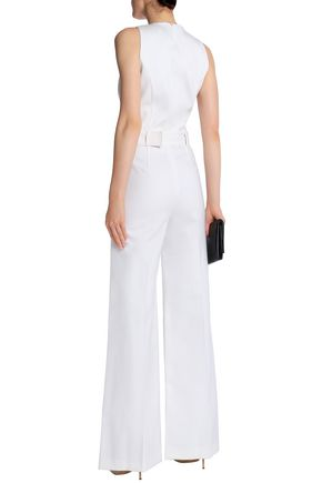 THEORY Belted canvas jumpsuit