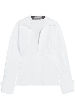 JACQUEMUS Paula cotton shirt