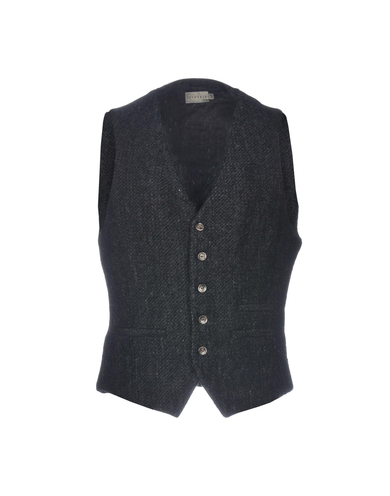 ITINERIS Suit Vest in Steel Grey
