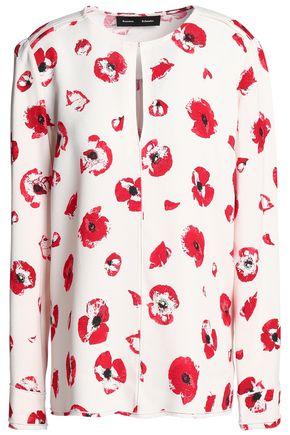 PROENZA SCHOULER Floral-print crepe blouse