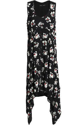 PROENZA SCHOULER Floral-print crepe dress