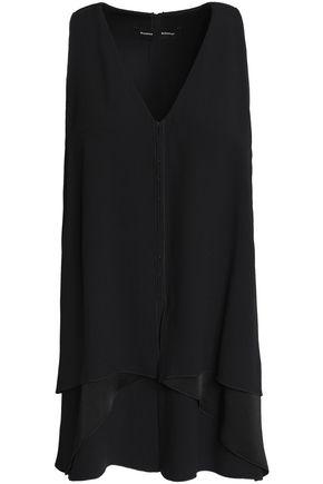PROENZA SCHOULER Layered satin-crepe tunic