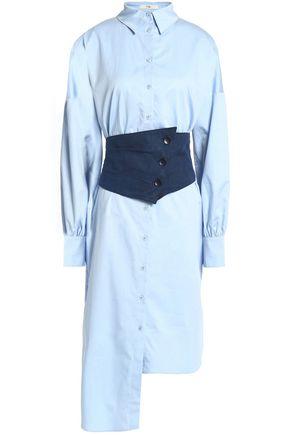 TIBI Knee lenght shirt dress