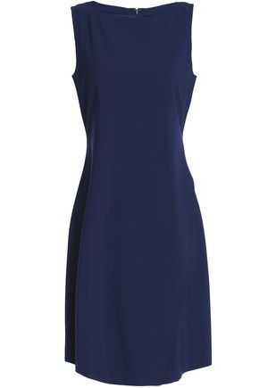THEORY Wrap-effect wool-blend crepe dress