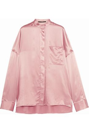 HAIDER ACKERMANN Silk-satin top