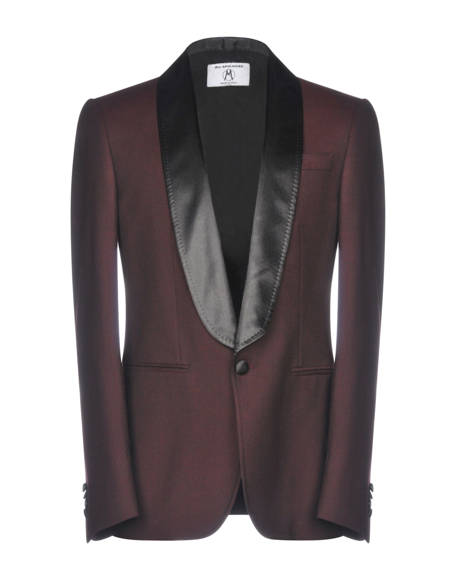 ALL APOLOGIES Blazer in Maroon