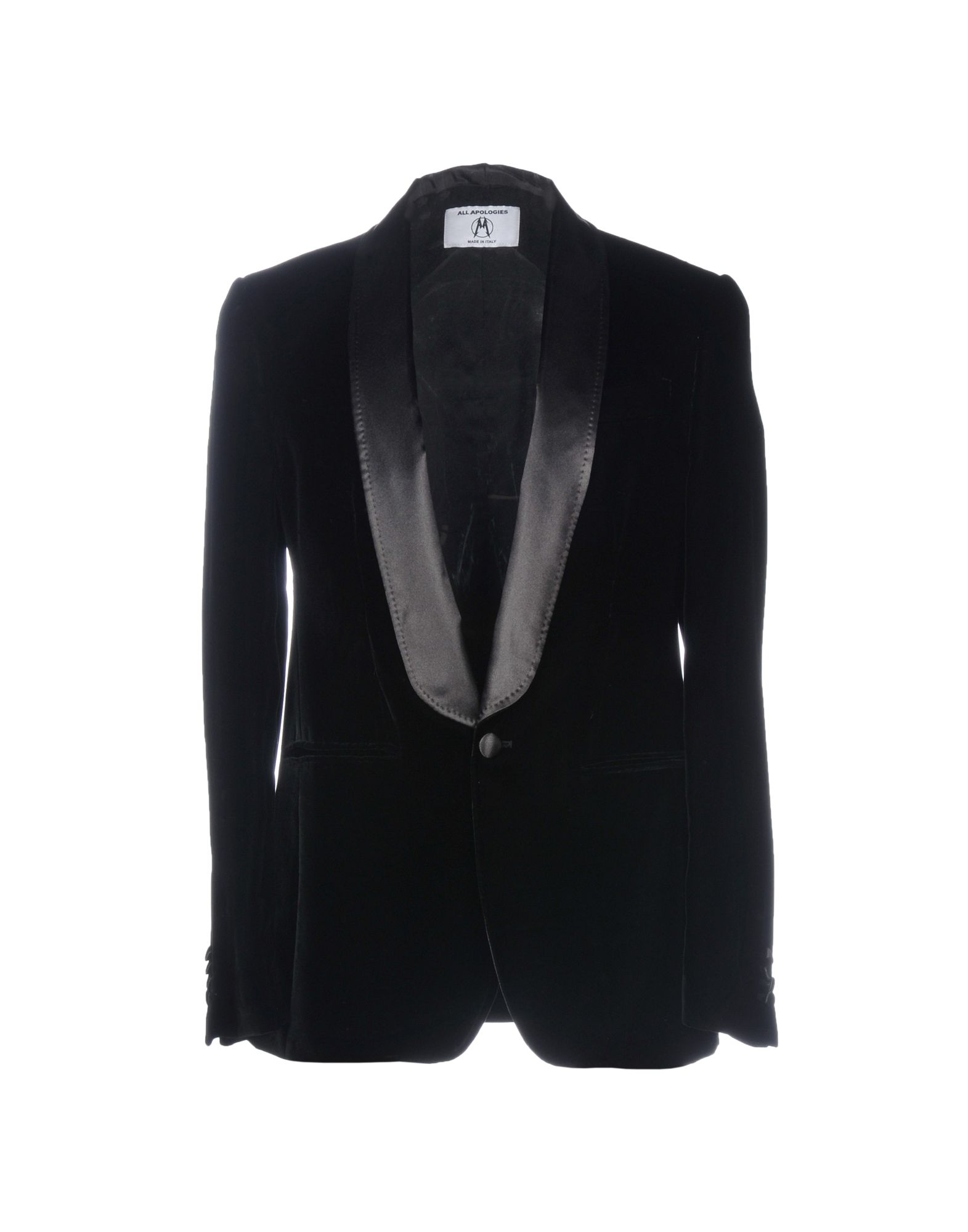 ALL APOLOGIES Blazer in Black