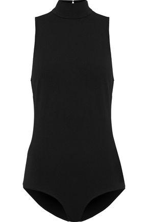 FLEUR DU MAL Cutout stretch-knit bodysuit