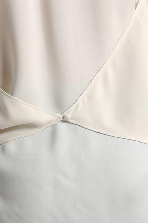 THEORY Silk crepe de chine top