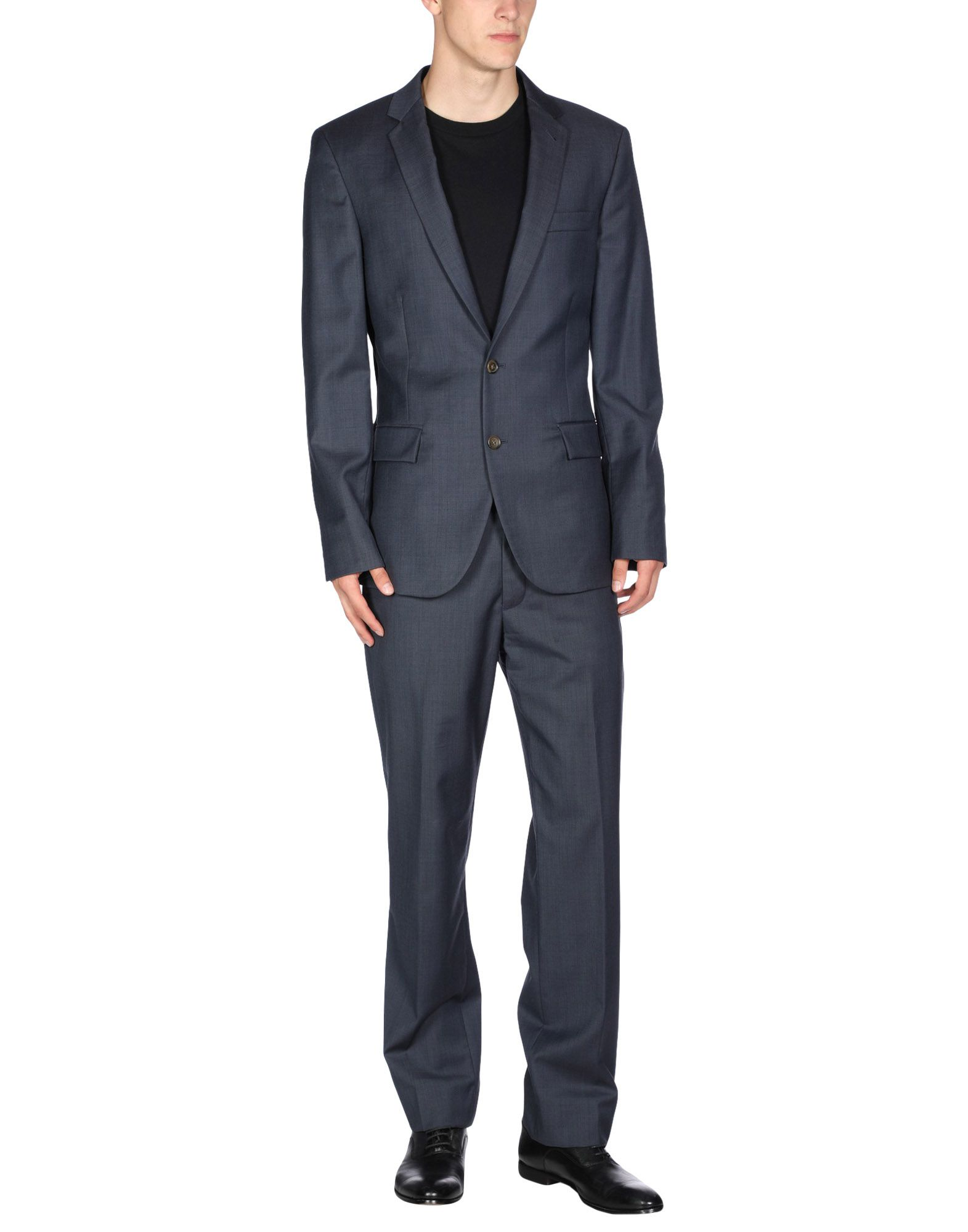 J.CREW Suits. crepe, multipockets, single-breasted, fully lined, basic solid color, lapel collar, long sleeves, no appliqués, button, zip, single chest pocket, mid rise, tuxedo. 100% Wool