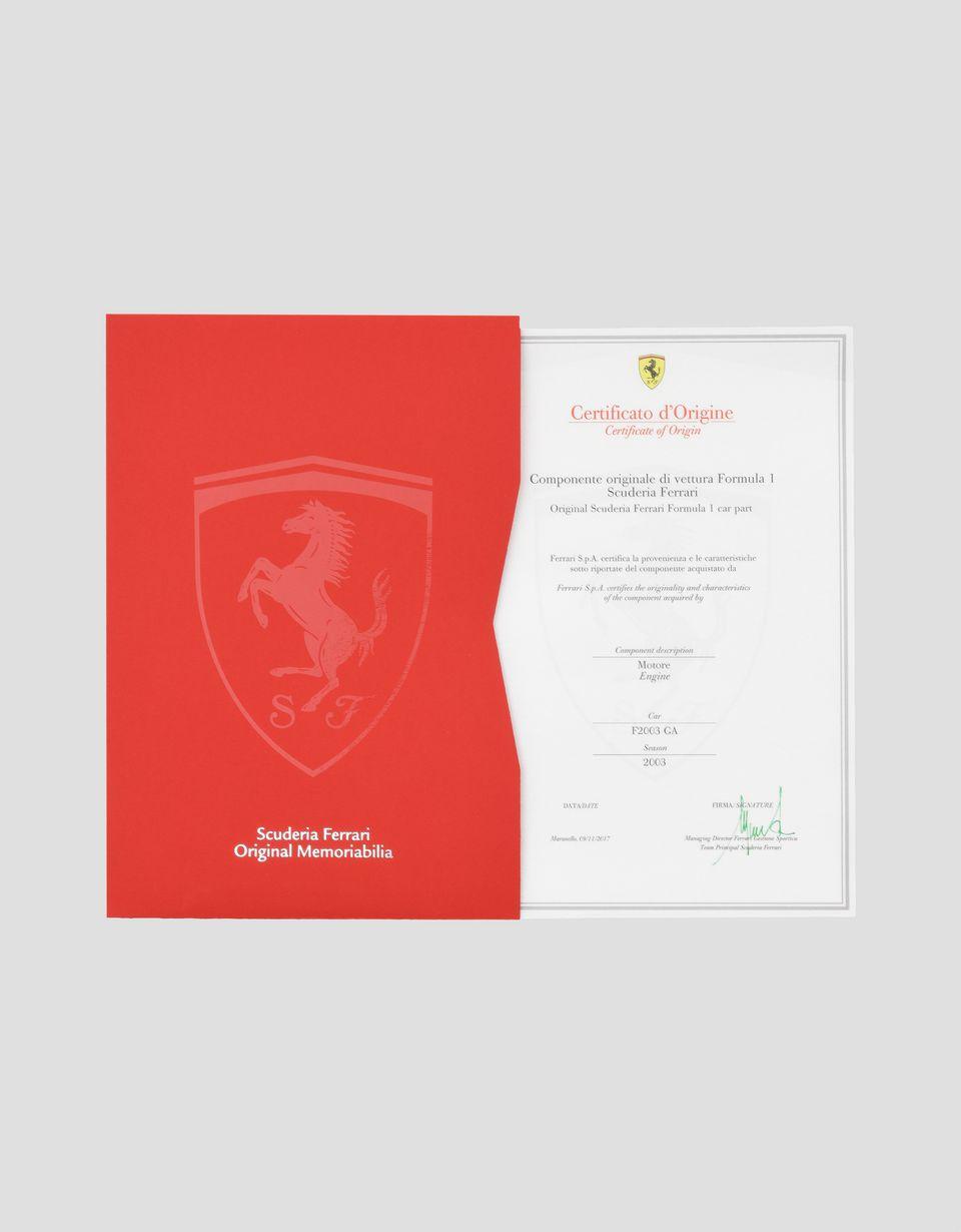 Scuderia Ferrari Online Store - Motore originale F2003 GA - Memorabilia F1